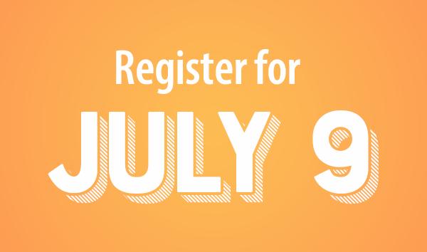 """Register for july 9"""