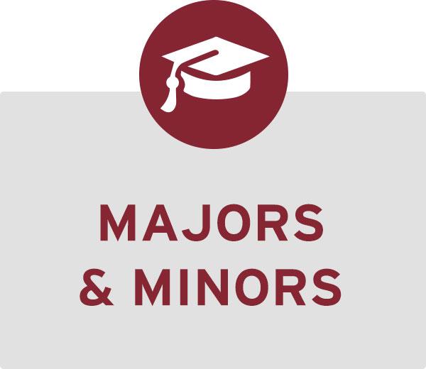 Explore majors and minors