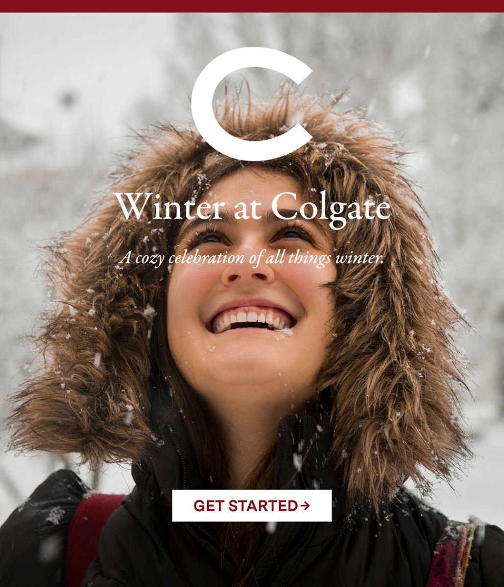 Colgate University Office of Admission – Winter at Colgate scenic picture