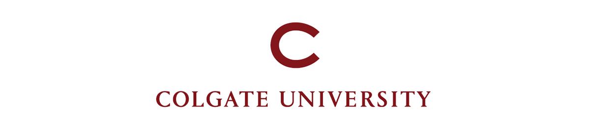 Colgate University C wordmark