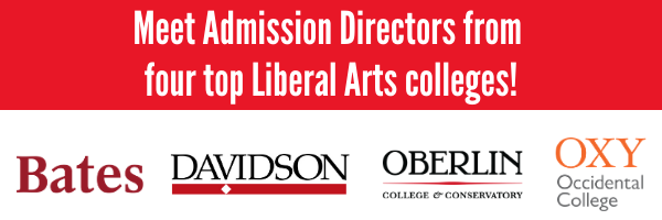 Meet admission directors from four top liberal arts colleges.