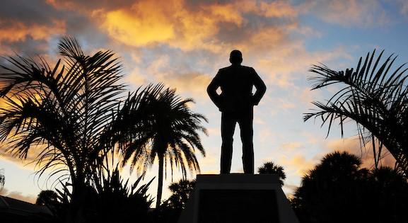 Statue at Florida Tech