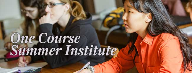 One Course Summer Institute
