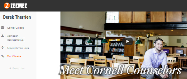 Cornell Counselors on ZeeMee
